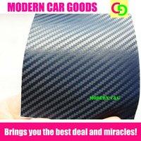 Wholesale 127cm x 30m dark blue 3d carbon fiber vinyl film car vinyl car wrap without air free bubbles practicable car stickers