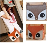 Newly Style female small fox block vintage bag 5 colors for choose shoulder bag hot sale messenger bag