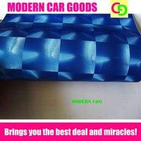 Wholesale 152cm x 30m blue cat eyes vinyl film car vinyl car wrap practicable car stickers with air channels
