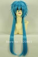 DRAMAtical Murder AOBA water blue   high temperature cosplay wig