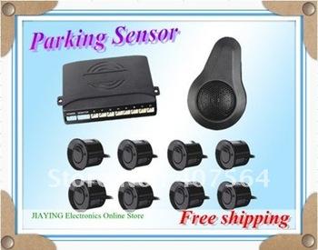 Free shipping New 8 Reverse Car parking sensor Backup Radar Alarm