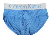 Caven kloie steel male panties male modal triangle panties seamless sexy blue
