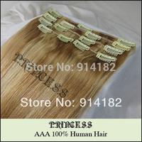 девушки 20 «женщины волосы 5шт прямо клипы в наращивание дешевые 5g/ПК темный коричневый #2