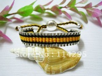 Latest Style Friendship Links Bracelet Mix Color Weave Chain Bracelets Jewelry Handmade Fashion 925 Silver Bracelets