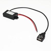 Free shipping ! 1pcs  12v 5v adapter 12 5 power converter usb power supply step-down module
