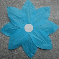 Free shipping  300pcs/lot NEW Chinese Paper Lotus Flower Floating Lanterns for Birthday Wedding Party,LL084