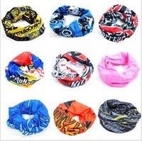 Wholesale Men Summer Ring Neck Scarves Mens Spring Headband Mask Womens Fall Balaclava Turban Scarfs Women Sports Hood Scarves