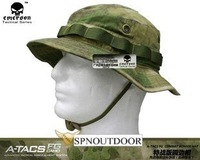 EMERSON Boonie Hat  (Chapeu) V2 A-TACS/FG Advanced Tactical Concealment System  92G Army Hat Material: Anti-scrape Grid Fabric