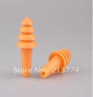Anti-noise earplugs ear Prevent noise natural silicom four layer earplugs insulation safety hearing protection