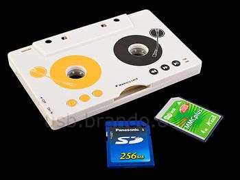 Cassette type mp3 fm transmitter trainborn mp3 cassette player cassette machine mp3 player