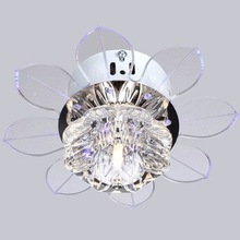 New Modern Crystal LED Ceiling Light Ceiling fans Fixture Lighting Chandelier N Free shipping(China (Mainland))