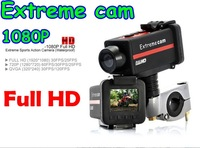 New 1920x1080 P underwater video camera diving up to 30 meters also good for private car, motobike, bicykle. Free shipping