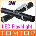 3W LED Flashlight Torch Lamp light Outdoor Led Lighting Free shipping wholesale