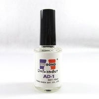 Nail art degumming agent wash glue solution glue unloading SMT nail dissolved liquid wash away on artificial nails glue