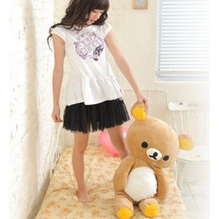 Free shipping , 60cm San-x rilakkuma bear , bear  plush toy doll, bear quilt. lovers gift, kid toys,Multifunctional plush toys