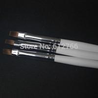 free shipping  gel nail brush size 6#