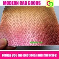 wholesale 152cm x 30m x 0.26mm orange snake skin chameleon vinyl film car vinyl car wrap colorful car stickers with air drains