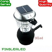 Free Shipping! Outdoor solar t light dynamo camping lantern led super bright camping lamp