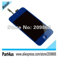 Dark Blue LCD Assembly with Digitizer Touch Screen for  iPod Touch 4 4th