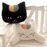 Cat plush toy doll cushion lumbar pillow ,Free shipping