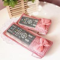 Powder princess household goods fenfen bow remote control set 3 doll birthday gift