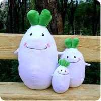 Radish lovers pillow wedding dolls plush toy lovely cushion birthday gift