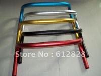 Bicycle Fixed Gear Handlebar road mtb bike aluminum alloy RISER Single Speed BMX Bicycle handle bar 25.4mm