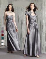 Free Shipping!A-line A-line sweet neckline appliques beaded empire ankle-length taffeta custom-made mother of the brides dresses