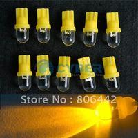 Free Shipping New 10X T10 168 194 501 W5W Car LED Light Side Dashboard Wedge Light Bulb  12V