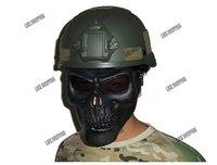 tactical  Full Mask /M02 Skull Warrior Mask(M02-SM-BK)