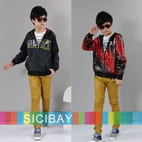 Free Shipping Children Autumn Jackets Functional Boys Reversible Coat Long Sleeve K0030
