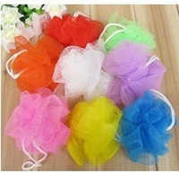 Free shipping bath flowers NEW ! high quality bath ball bath sponge wholesale 25pcs/lot