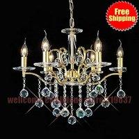 6 light Luxury Chandelier fashion crystal chandlier light living room lights dining room light bedroom lamp chandelier Lighting
