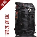 Male multifunctional backpack tactical package army backpack waterproof bag black