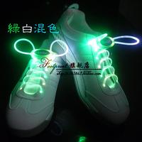 free shipping Creative LED flashing light street dance shoes shoelace