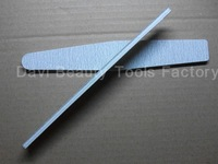 Nail art tools finger file sands of rhombus grey sandpaper file