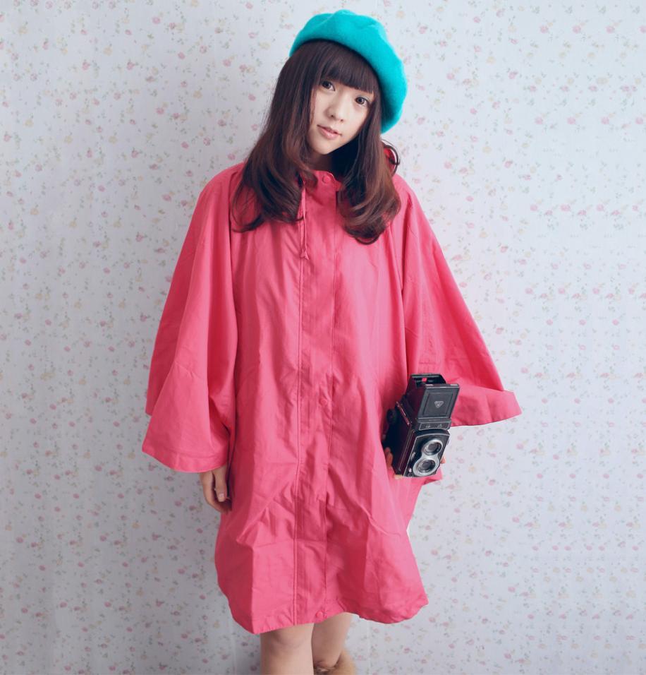 雨の日お洒落を楽しむ!今すぐレインコートを着てお出かけしないとっ♡