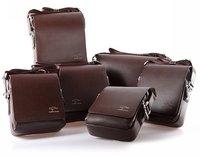 New Arrival Mens Kangaroo Cross Body Messenger Shoulder Bag Shoulderbag Business Briefcase Black Brown MB0001