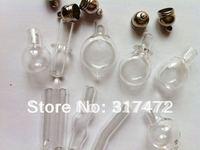 Freeshipping!!  Lovely MINI Glass Handmade Vial pendants Rice Art Jewelry Pendants