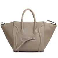 Best Quality Swag Trend Smiley bags women's handbag 1653 Light Grey Leather Shoulder Bag Fashion Style