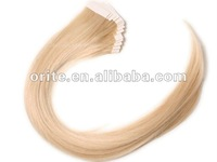 100% popular high quality  remy  human hair tape hair extension 20inch