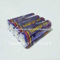 MarsFire 10440 630mAh 3.7V Li-ion Rechargeable Battery with PCB (1 pair)