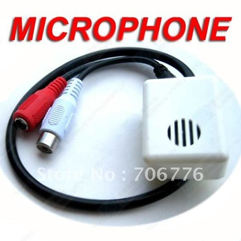 20pcs Security Mic Microphone For CCTV Camera CAM DVR