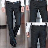 уникальный дизайн брюк ноги мужской случайные тонкий прямые джинсы размер w28-w38 31349