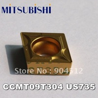 MITSUBISHI carbide insert CCMT09T304 US735 Lathe Insert,Suitable for SCL(F)CR Series Turning Faceing External Lathe Tool