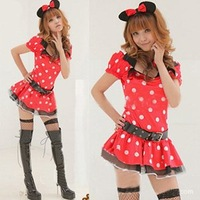 Wholesale Cute Sexy Cosplay Costumes,Mickey Mouse Costume for Adults