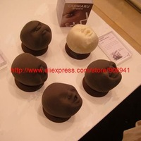 Japaness Anti-Stress Face Ball Venting Ball, Stress Relievers Funny Toy,Kaomaru brown,Human-faced Doll