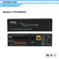 Power Video Data surveillance 4CH CCTV video balun HY-PVD504J
