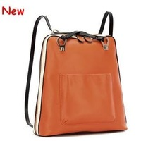 Free shipping 2012 lady's new european fashion look 100% candy colors GENUINE LEATHER Designer handbag Shoulder/mesenger bags
