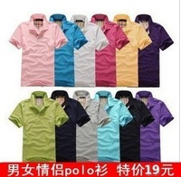 Summer short-sleeve  class service  collar t shirt